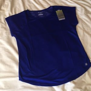 NWT Tek Gear Top with lace arms and back